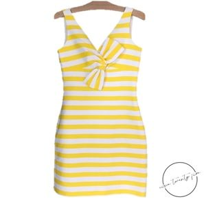 Kate Spade Silverscreen Sleeveless Striped Dress